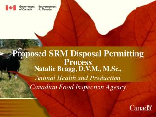 Proposed SRM Disposal Permitting Process