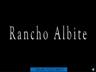 Rancho Albite