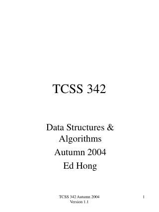 TCSS 342