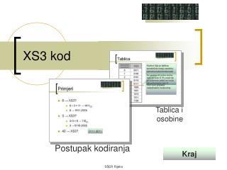 XS3 kod