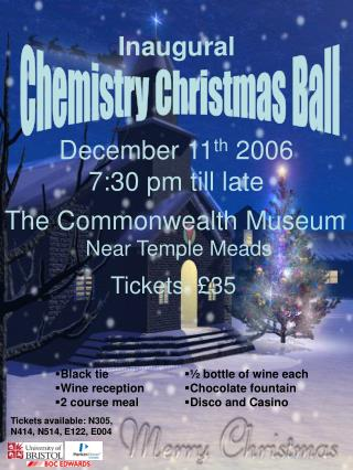 Chemistry Christmas Ball