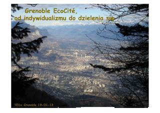 TEDx Grenoble 19-O1-13