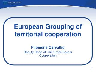 European Grouping of territorial cooperation