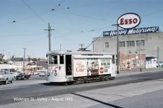 Wickham St., Valley – August 1965