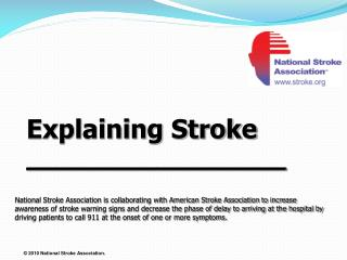 Explaining Stroke  __________________