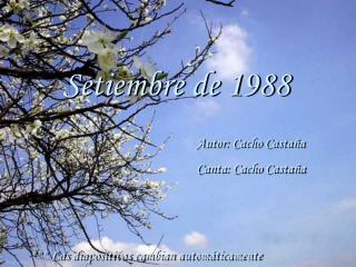 Setiembre de 1988