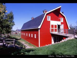 Alberta – Village de l'Ouest 1988