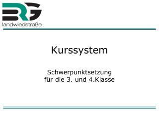Kurssystem