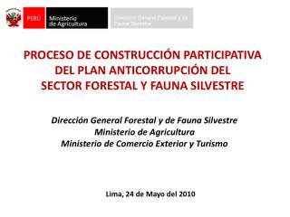 PROCESO DE CONSTRUCCI�N PARTICIPATIVA  DEL PLAN ANTICORRUPCI�N DEL