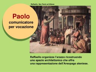 Raffaello,  San Paolo ad Athene