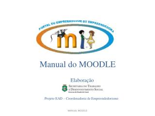 Manual do MOODLE
