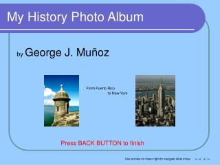 My History Photo Album