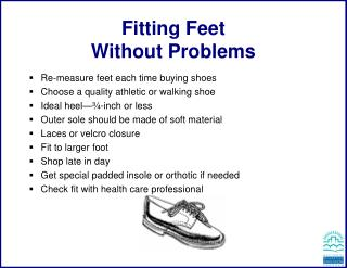 Fitting Feet  Without Problems