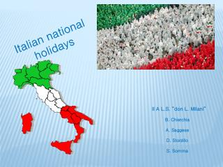 Italian national holidays