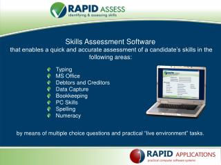 Skills Assessment Software