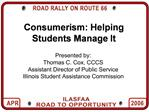 Consumerism: Helping Students Manage It