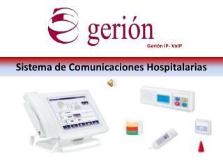 Sistema de Comunicaciones Hospitalarias