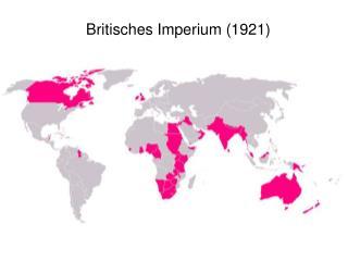 Britisches Imperium (1921)