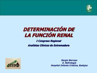 Sergio Barroso S. Nefrología  Hospital Infanta Cristina, Badajoz