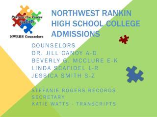 Northwest Rankin High School College Admissions