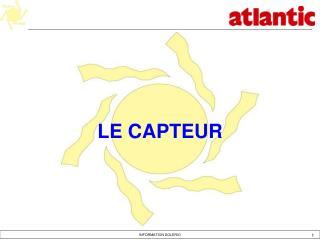 LE CAPTEUR