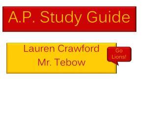 A.P. Study Guide