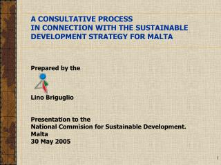 A CONSULTATIVE PROCESS IN CONNECTION WITH THE SUSTAINABLE DEVELOPMENT STRATEGY FOR MALTA