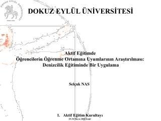 Aktif Eğitim Kurultayı 29-30 Mayıs 2004 İzmir