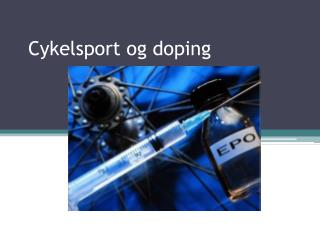 Cykelsport og doping