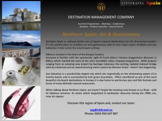 DESTINATION MANAGEMENT COMPANY Incentive Programmes – Meetings – Conferences