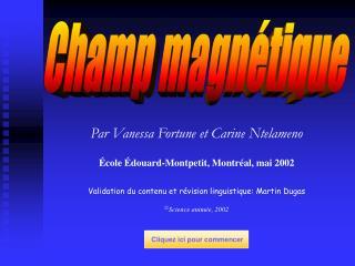 Champ magnétique