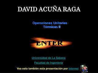DAVID ACUÑA RAGA