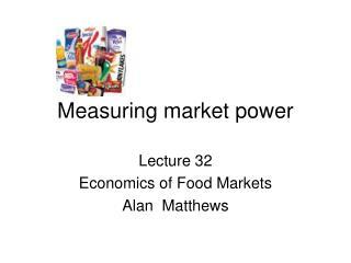 Measuring market power