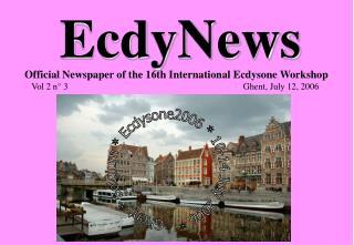 EcdyNews