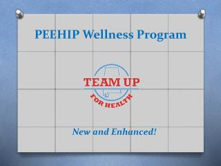 PEEHIP Wellness Program