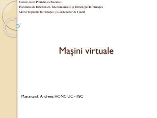 Ma şini virtuale