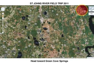 ST JOHNS RIVER FIELD TRIP 2011