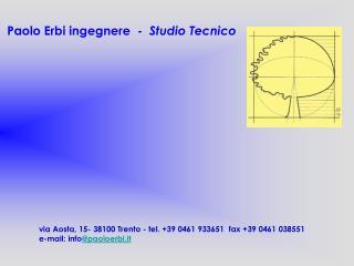 Paolo Erbi ingegnere  -   Studio Tecnico