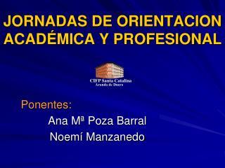 JORNADAS DE ORIENTACION ACADÉMICA Y PROFESIONAL