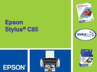Epson  Stylus  C85