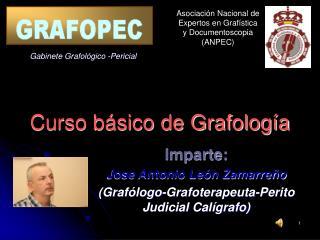 Curso básico de Grafología