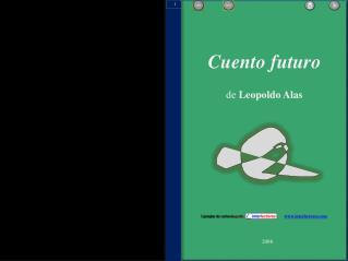 Cuento futuro de  Leopoldo Alas