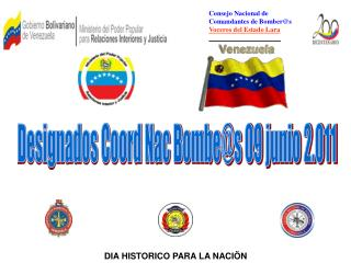 Consejo Nacional de  Comandantes de Bomber@s Voceros del Estado Lara _____________________