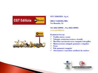 CGT Edilizia Cantiermacchine