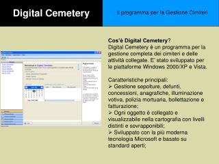 Digital Cemetery