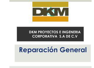DKM PROYECTOS E INGENERIA CORPORATIVA  S.A DE C.V