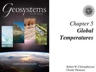 Chapter 5  Global Temperatures