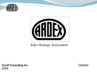 Sales Strategy Assessment