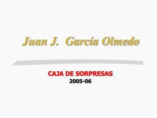 Juan J.  García Olmedo