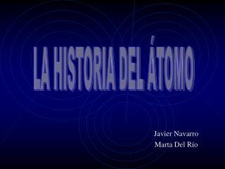 Javier Navarro Marta Del Río